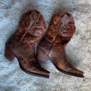 Authentic Ariat Cowboy Boots Women size 5.5